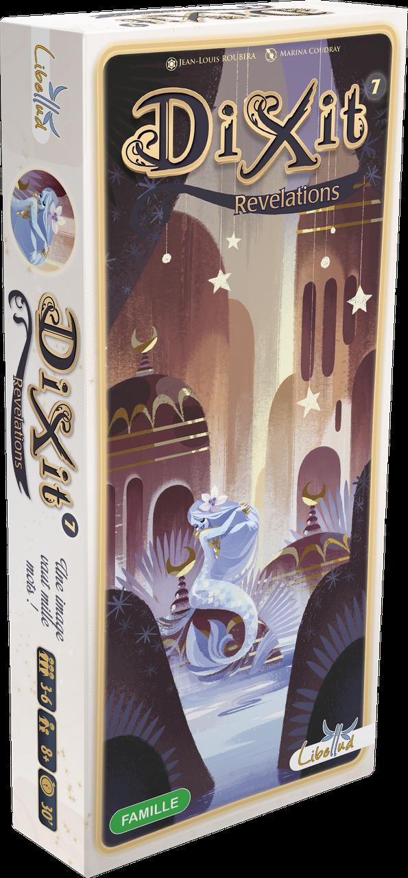 Настольная игра Libellud Диксит 7: Откровения (Dixit 7: Revelations) (3558380040941)