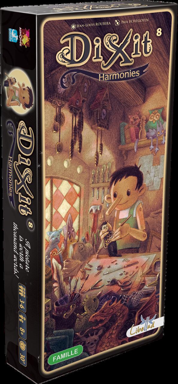 Настольная игра Libellud Диксит 8: Гармония (Dixit 8: Harmonies) (3558380049258)