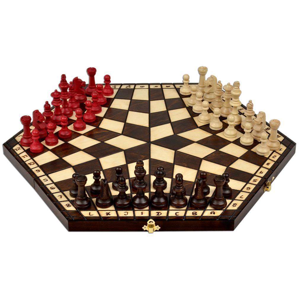"""Шахматы Madon """"На троих"""" Большие (3162)"""