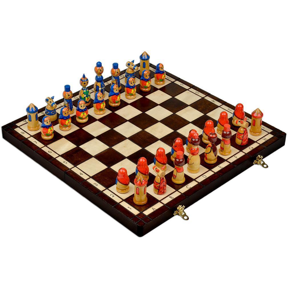 Шахматы Madon Матрешки (3137)