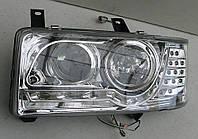 Volkswagen Transporter T4 оптика передняя хром LED