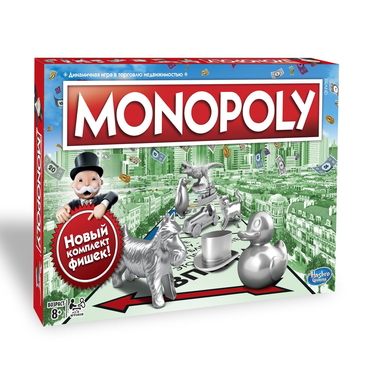 Настольная игра Hasbro Монополия Классическая (русская) (5010993414475)