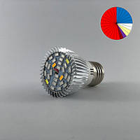 Фитолампа светодиодная 28W E27 (Мультиспектр)