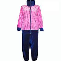 Тёплая пижама женская, костюм материал велюр, пижама яркая. Размеры 44,46,48,50,52,54,56,58,60,62,64.