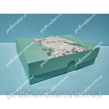 """Коробка для еклерів, зефіру """"With Love"""""""
