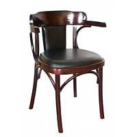 Кресло деревянное мягкое белорусское