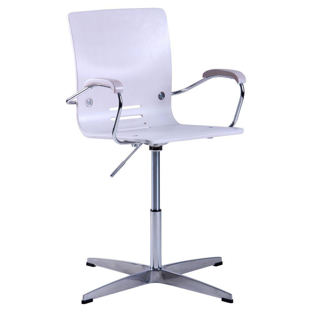 Кресло Фиджи хром Дуб беленый