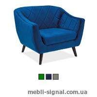 Мягкое кресло Molly 1 Velvet (Signal)