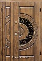 Двери входные металлические Optima Big Glass серия VELA