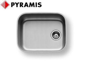 Мойка из нержавеющей стали под столешницу PYRAMIS Iris 40х50x20