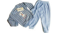 Пижама махровая с начёсом для мальчиков, размеры 86/92-134/140, арт. 460, фото 1