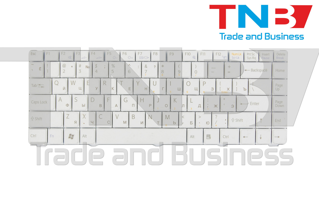 Клавіатура SONY Vaio VGN-NR52 біла оригінал