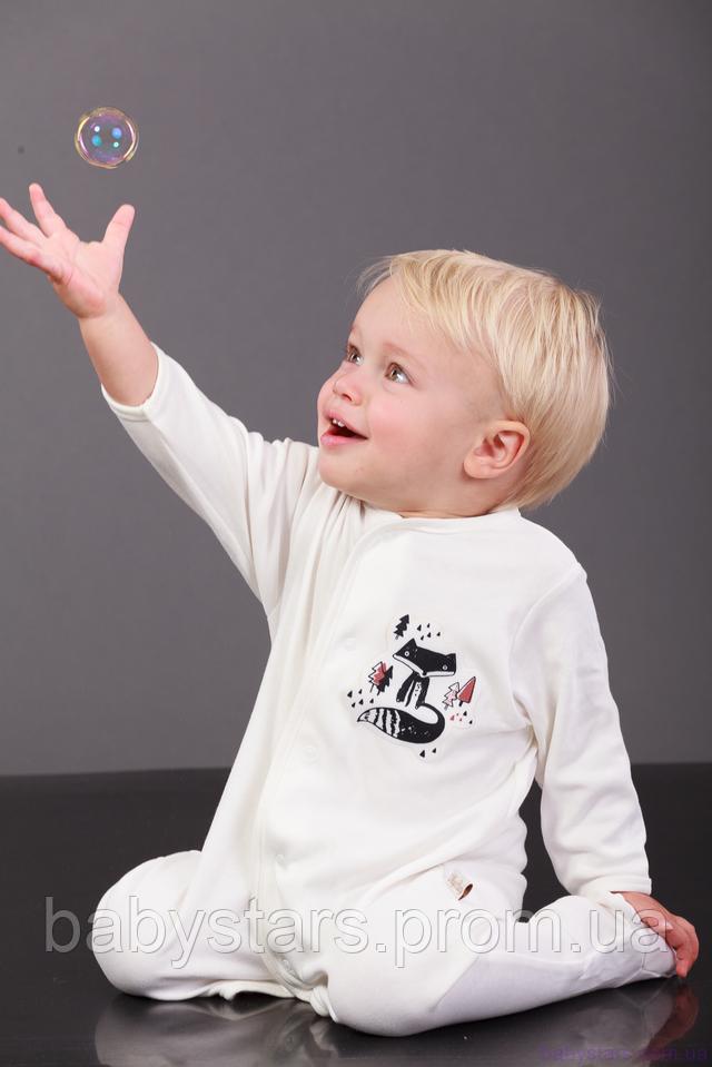фото ребенка в хлопковом человечке