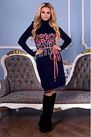 Вязаное платье БАМБУК р.44-50, фото 1