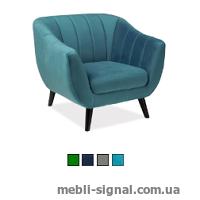 Мягкое кресло Elite 1 Velvet (Signal)