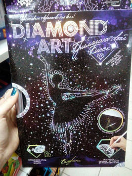 "Данко-Тойс Набор для тв. ""DIAMOND ART"" Мини/балерина"