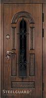 Двери входные металлические Vikont Glass серия RESISTE