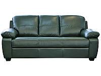 Офисный кожаный трехместный диван Колорадо (201 см) (3 цвета в наличии)