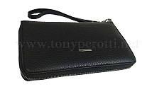 b3a2304ce8c8 Кошелек-клатч Tony Perotti Vintage 1913 grigio кожаный серый, цена 2 ...