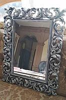 Зеркало в раме Ti Amo «black silver»