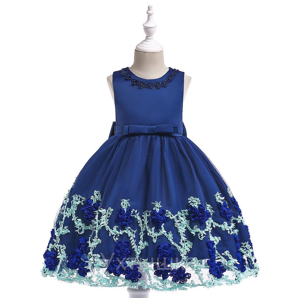 b860c333e3f6615 Нарядное платье для девочки 4-12 лет
