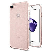 Чехол Spigen для iPhone 8 / 7 Liquid Crystal, Glitter, фото 1