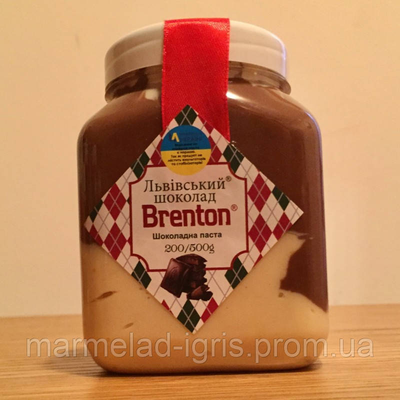 Львовская шоколадная паста 500г