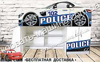 Кровать чердак Полиция 2050х1290х836 , фото 1