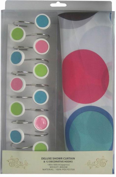 Фіранки для душу ARYA Colorfull 180x180 див. 1352002