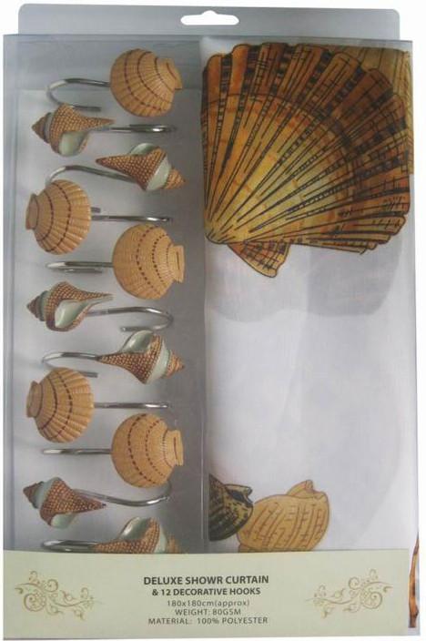 Занавеска для душа ARYA Shell 180x180 см. 1352010