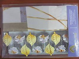 Занавеска для душа ARYA Leaf 180x180 см. 1353021