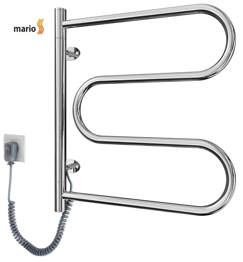 Полотенцесушитель электрический MARIO Лассо - I  515 x 485 поворотный