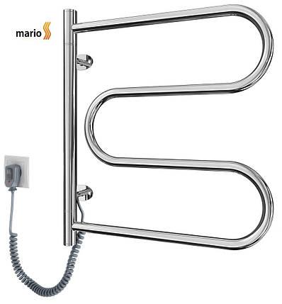 Полотенцесушитель электрический MARIO Лассо - I  515 x 485 поворотный, фото 2