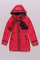 Пальто демисезонное для девочек Black&Red