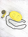 Женская бананка, поясная сумка гучи, Gucci, кроссбоди. Желтая / 8809, фото 3