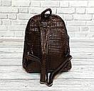 Стильный женский рюкзачок Philipp Plein. Коричневый, фото 4