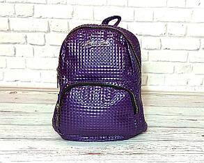 Стильный женский рюкзачок Philipp Plein. Фиолетовый