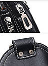 Сумка-рюкзак на одно плечо Черная, фото 7