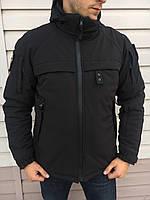Куртка Патрол СОФТ ШЕЛЛ зимняя для полиции, фото 1