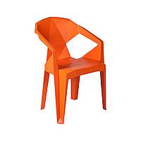 Кресло пластиковое Muzе mandarin plastic