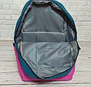 Стильный рюкзак ванс, Vans of the Wall. Розовый с синим., фото 4