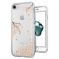 Чехол Spigen для iPhone SE 2020/8/7 Liquid Crystal, Shine Blossom (042CS21220)