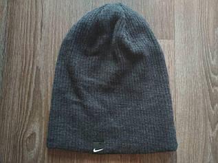 Классическая шапка ребристая вязка 333-ГЛ