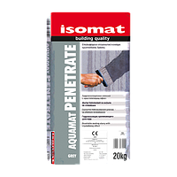Изомат - Аквамат Пенетрат (Aquamat Penetrate)  обмазочная гидроизоляция проникающего действия 20 кг.