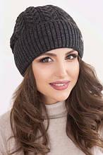 Зручна зимова шапка Неллі на флісі