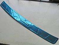 Subaru XV накладка защитная на задний бампер