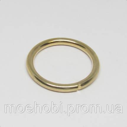 Кольца для сумок (20мм) золото,  4342, фото 2