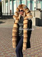 Парка с мехом лисы внутри, фото 1