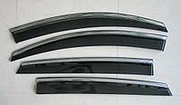 Mercedes Benz GLE Coupe  ветровики дефлекторы окон ASP с молдингом нержавеющей стали / sunvisors