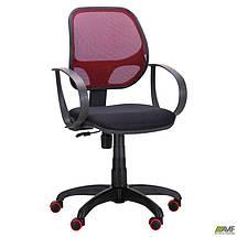 Кресло Бит Color/АМФ-8 сиденье А-1/спинка Сетка бордовая, фото 2